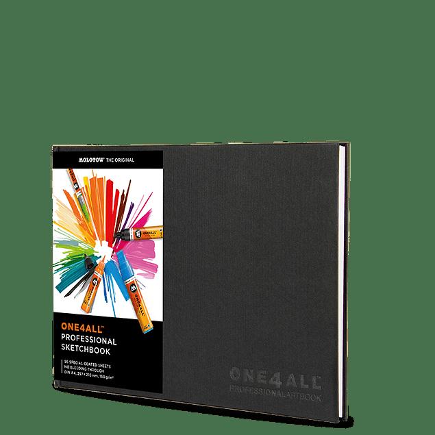 Professional Artbook One4All A4 portrait 4250397612058