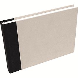 Travel drawing album A5 60sh 180g Light grey canvas