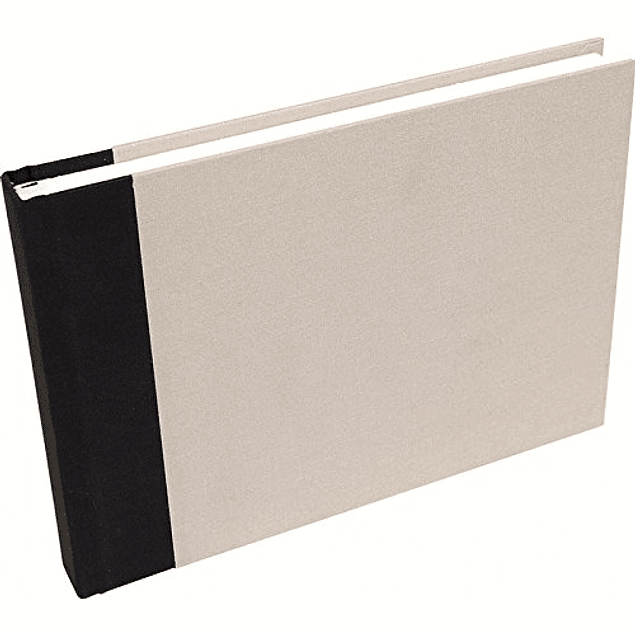 Travel drawing album A5 - Light grey canvas