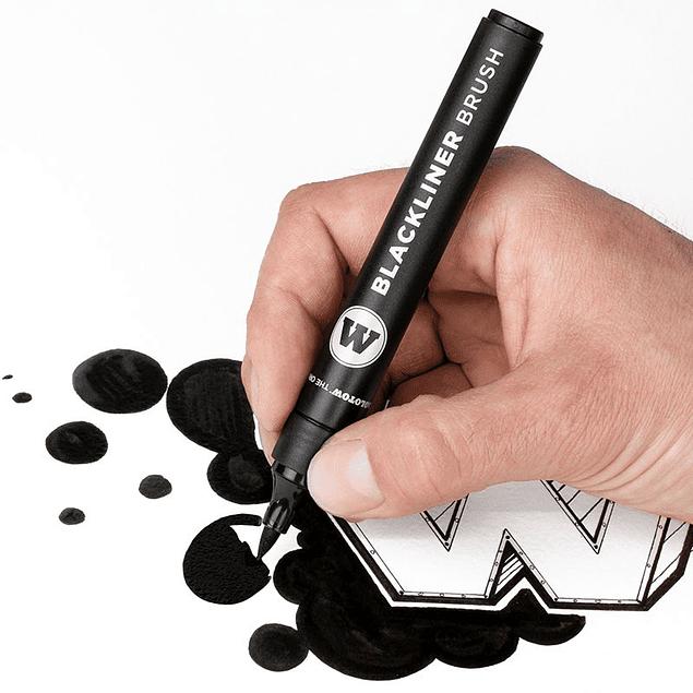 Molotow - Blackliner Brush
