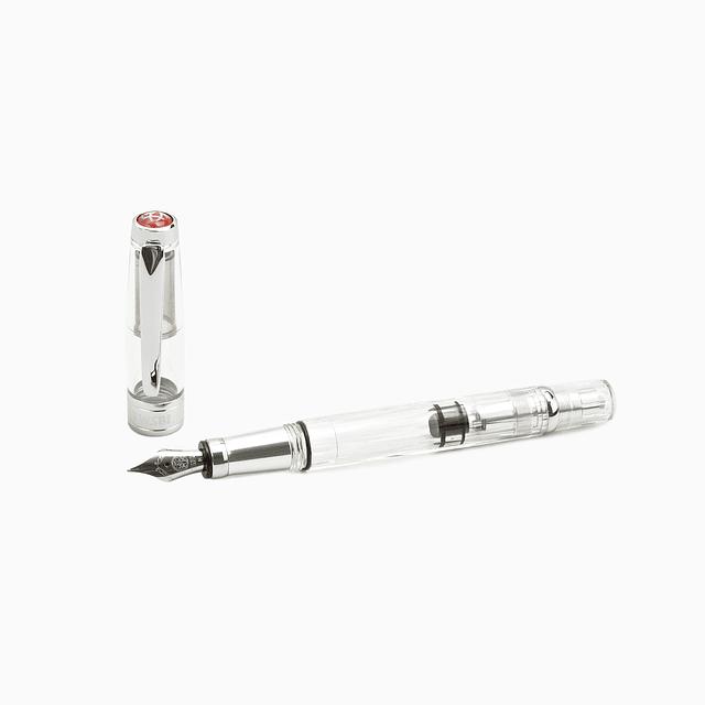 TWSBI Diamond 580AL Silver Fountain pen