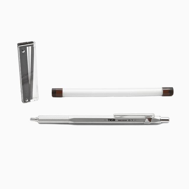 TWSBI Precision RT Pipe Pencil Matt Silver