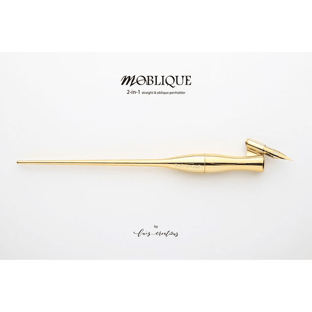 Porta pluma Moblique golden-sunshine