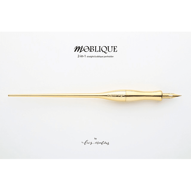 Porta pluma Moblique golden-sunshine