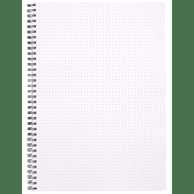 Cuaderno Doble Espiral, A4+ 21 x 31,8 cm - Color Negro