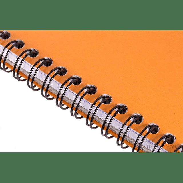 Notepad Anillado Superior - 2 tamaños (Cuadros)