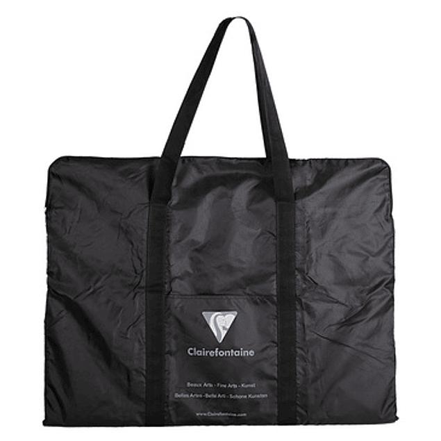 Nylon black bag art folders 55x40