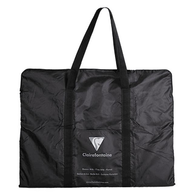 Nylon black bag art folders 40 x 55 cm