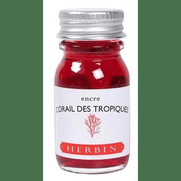 Tinta caligráfica, frasco de 10 ml, Corail Des Tropiques