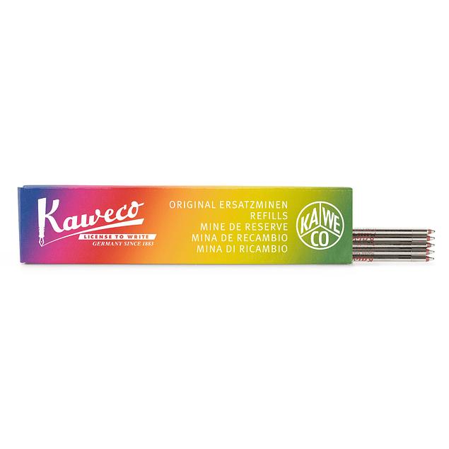 Mina de recambio para bolígrafo Kaweco D1, 1.0 mm Rojo