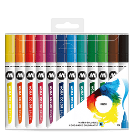 AQUA COLOR BRUSH BASIC SET 1