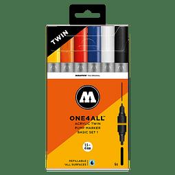 ONE4ALL ACRYLIC TWIN BASIC-SET 1