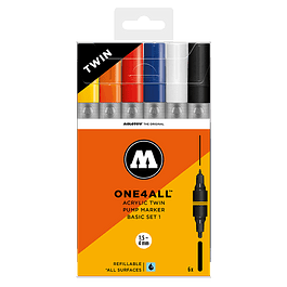 ONE4ALL ACRYLIC TWIN BASIC-SET 1