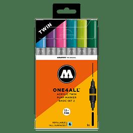 ONE4ALL™ ACRYLIC TWIN BASIC-SET 2