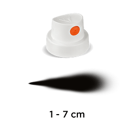 CAP 'SILENT FAT' (WHITE/ORANGE)