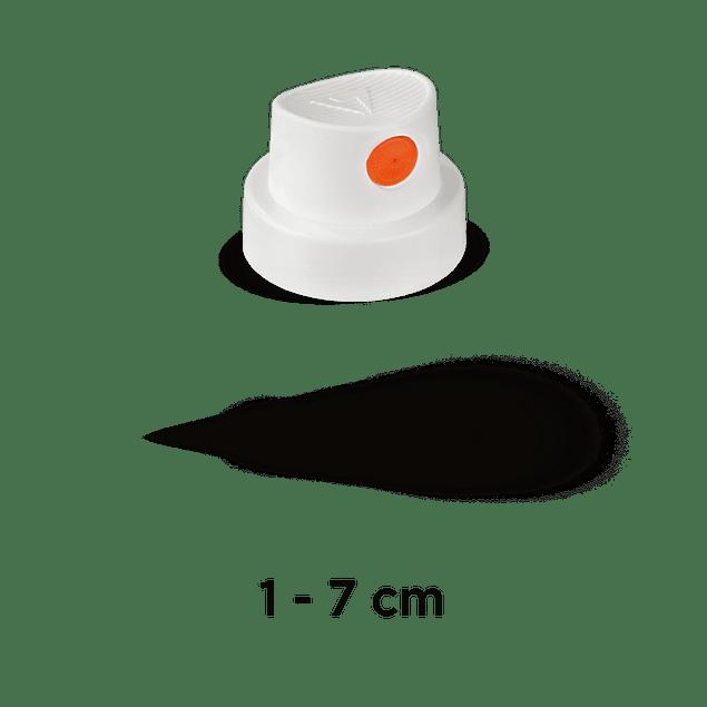CAP 'SILENT FAT' (WHITE/ORANGE)