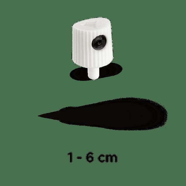 CAP 'NY FAT' (WHITE/BLACK)