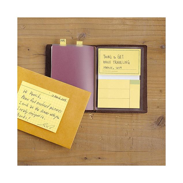 TRAVELER'S notebook Refill  Sticky Memo Pad 012