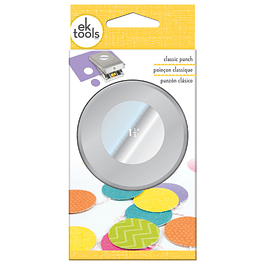 PUNCH - EK - MEDIUM - CLASSIC - CIRCLE - 1.5 INCH