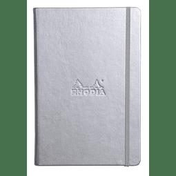 Webnotebooks Bound Dot Grid Silver (A6)
