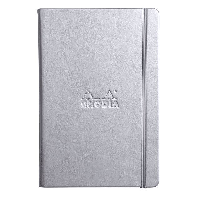 Webnotebooks Bound Dot Grid Silver (A6)