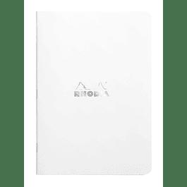 Classic White Stapl.ntbk 75x120 5x5 48sh