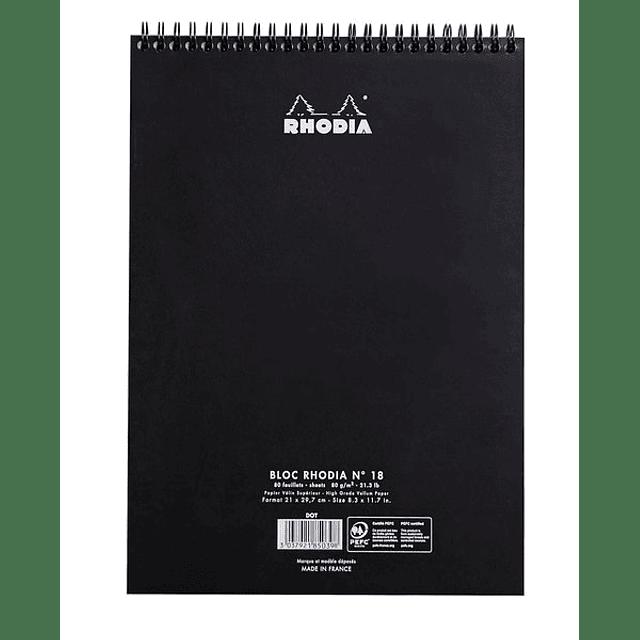 Notepad Anillado Superior - 21 x 29,7 cm (2 Colores)