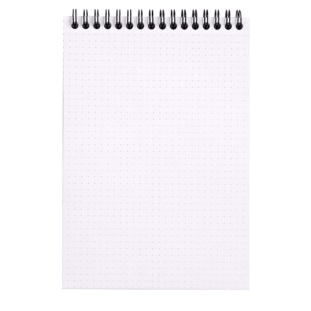 Notepad Anillado Superior - 14,8 x 21 cm (2 colores)