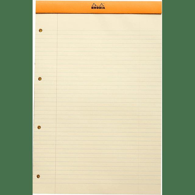 Libreta N°20 Perforado - 21 x 31,8 cm - (Hojas Amarillas)