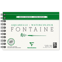 Fontaine  Watercolour 300 g 12 hojas