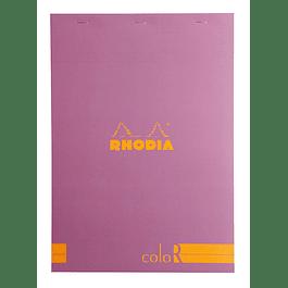 RHODIA coloR pad 21x29.7 LILAC 70sh 90gL