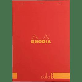 RHODIA coloR pad 21x29.7 POPPY 70sh 90gL