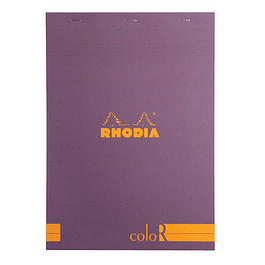 RHODIA coloR pad 21x29.7 PURPLE 70sh90gL