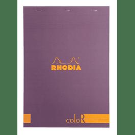 RHODIA coloR pad 21x29.7 PURPLE 70sh90gL