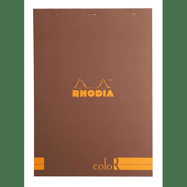 RHODIA coloR pad 21x29.7 CHOCO 70sh 90gL
