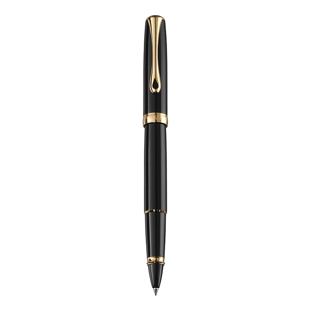 BLACK LACQUER GOLD • ROLLERBALL PEN