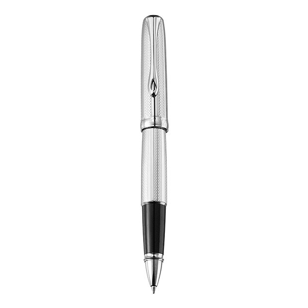 GUILLOCHE STRIPES CHROME • ROLLERBALL PEN