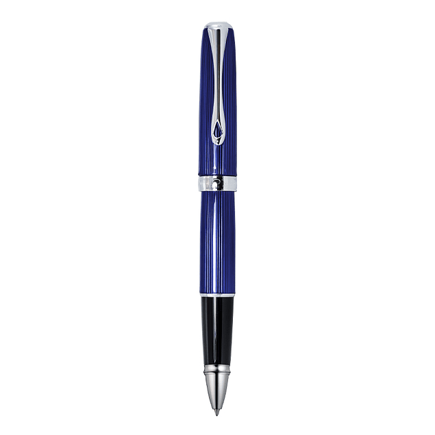SKYLINE CHROME BLUE • ROLLERBALL PEN