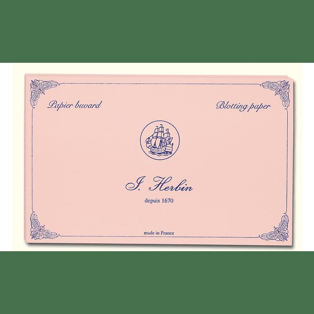 Papel secante de 160g - Rosado