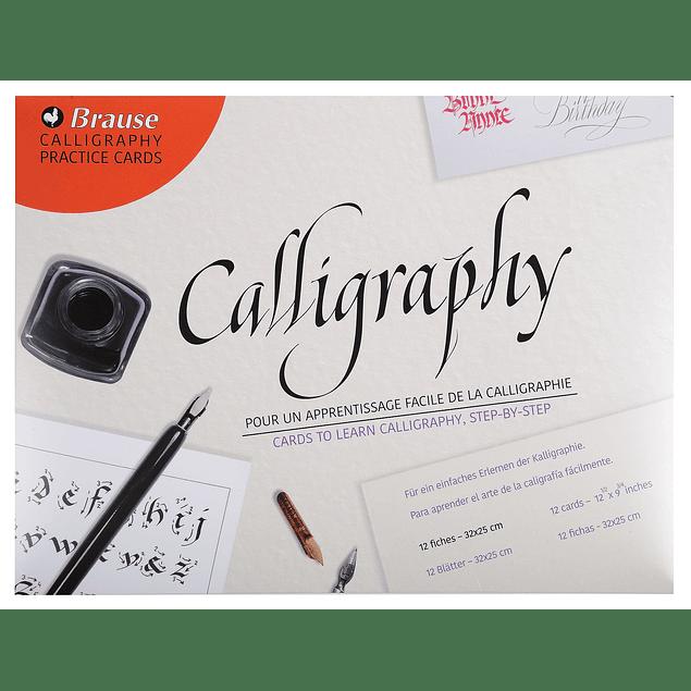 Guías de aprendizaje caligrafía