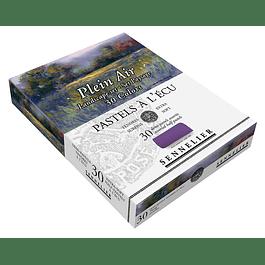 Caja de Cartón Pastel À L'ecu Sennelier 30 Medios Pasteles,