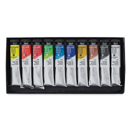 Set de 10 óleos Rive Gauche - 21ml