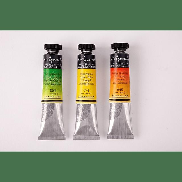 Serie 3 - Tubos de Acuarela extrafina 10 ml