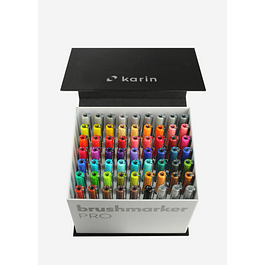BrushmarkerPRO | MegaBox 60 colores + 3 blenders