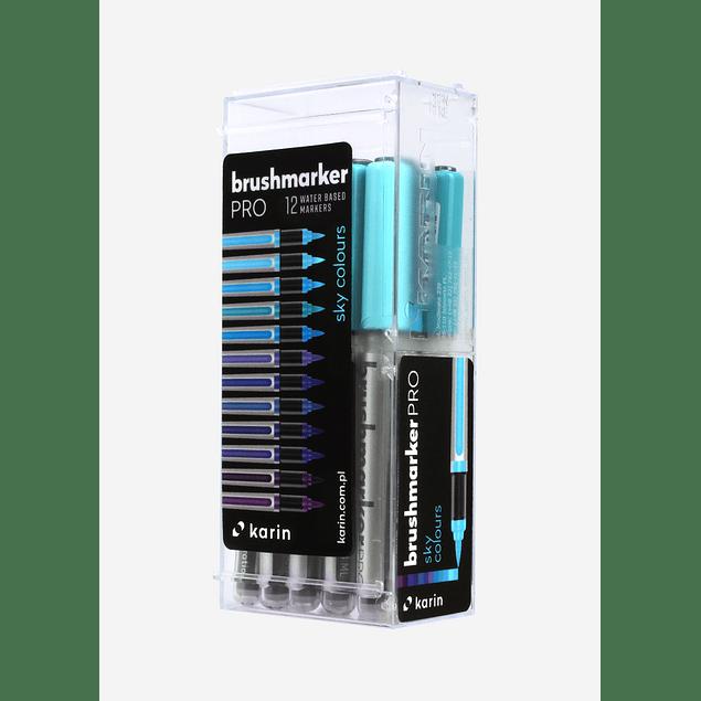 BrushmarkerPRO   12 Sky Colors Set