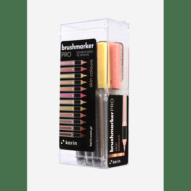 BrushmarkerPRO  12 Skin Colours Set