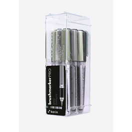 BrushmarkerPRO | 12 Grey Colours Set