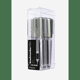 BrushmarkerPRO | 12 Grey Colours Set