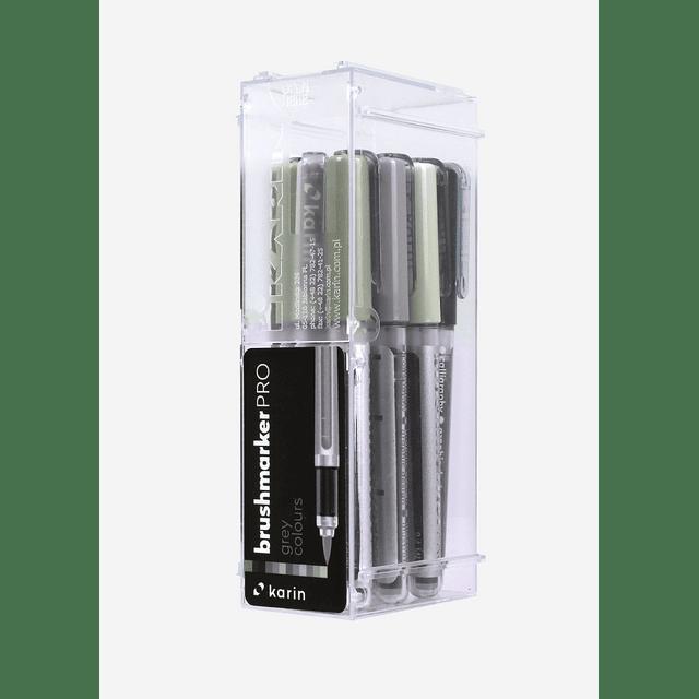 BrushmarkerPRO   12 Grey Colours Set