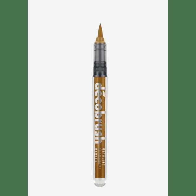 DecoBrush Metallic | Red Gold Metallic